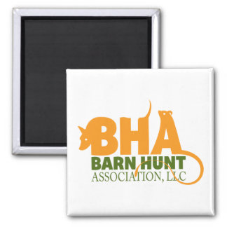 Barn Hunt Association LLC Logo Gear Square Magnet