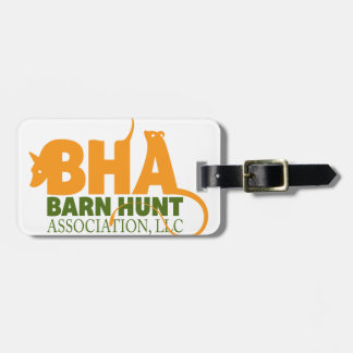 Barn Hunt luggage tag