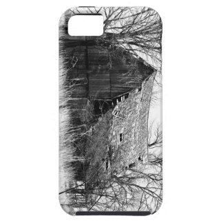 Barn in B/W phone case iPhone 5 Case