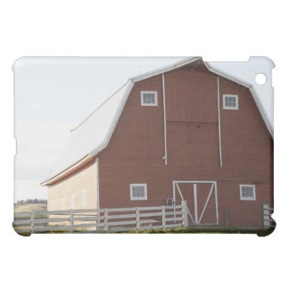Barn in rural landscape iPad mini cover