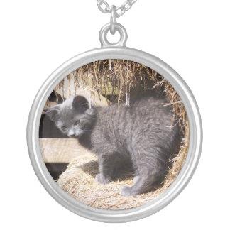 Barn Kitten Necklace