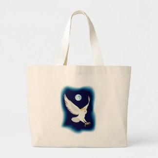 barn-owl-1 jumbo tote bag