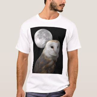 Barn Owl and the Moon shirt