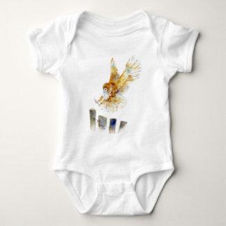 Barn Owl Baby Bodysuit