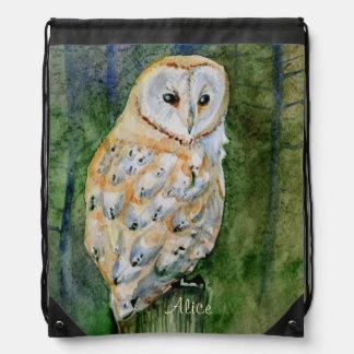 Barn owl rucksacks