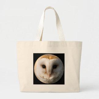 """Barn owl"" Tote Bags"