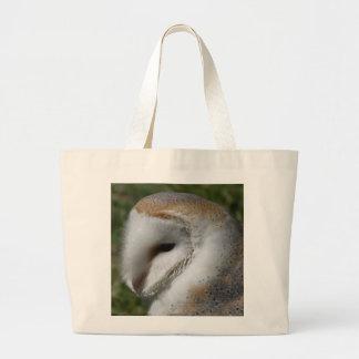 Barn owl canvas bags