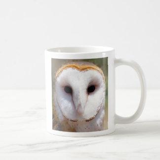 Barn Owl Basic White Mug