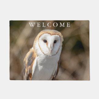Barn Owl Doormat