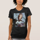 Barn Owl, Farmhouse and Barn T-Shirt
