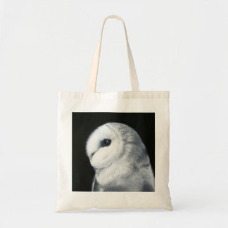 Barn Owl- from original oil painting by Jo Maynard Budget Tote Bag