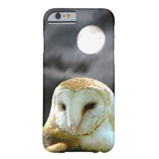 Barn Owl Full Moon Barely There iPhone 6 Case
