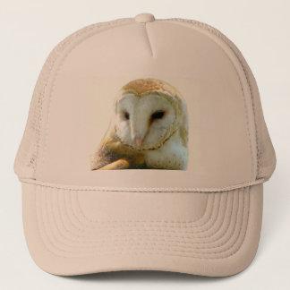Barn Owl Head Shot Trucker Hat