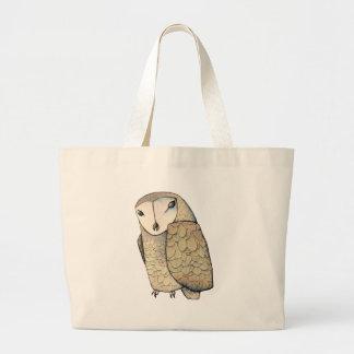 Barn Owl Jumbo Tote Bag