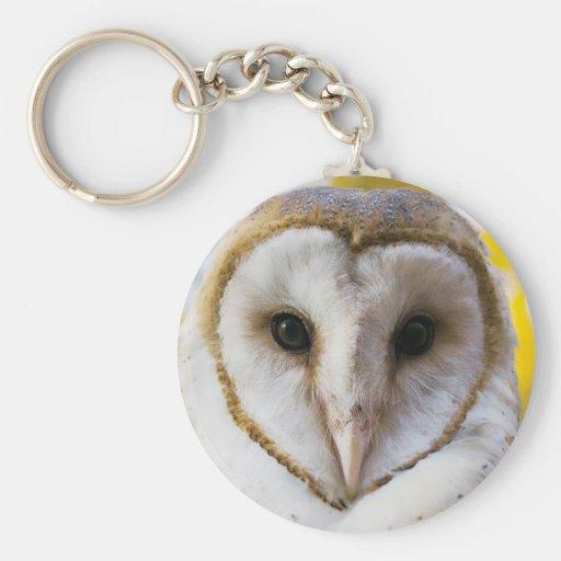 Barn Owl Keychain