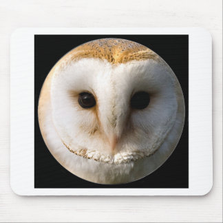 """Barn owl"" Mouse Mat"