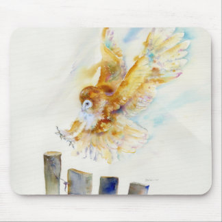 Barn Owl Mouse Mat