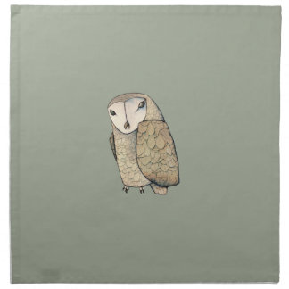 Barn Owl Napkin