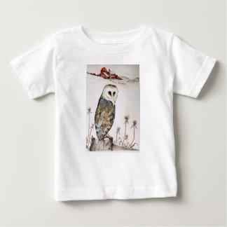 Barn Owl on the hunt Baby T-Shirt
