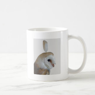Barn Owl Pattern Coffee Mug