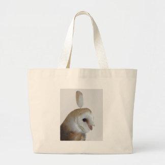 Barn Owl Pattern Jumbo Tote Bag