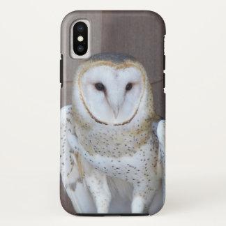 Barn Owl Photo iPhone X Case