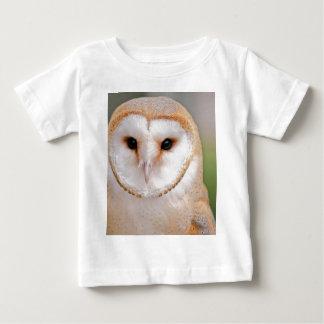 Barn Owl Portrait Baby T-Shirt