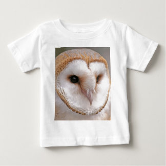 Barn Owl Portrait Baby T-Shirt