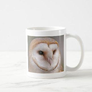 Barn Owl Portrait Coffee Mug