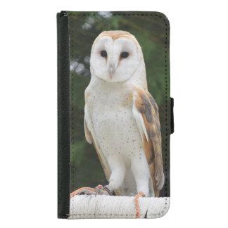 Barn Owl Samsung Phone Wallet