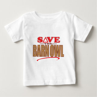 Barn Owl Save Baby T-Shirt