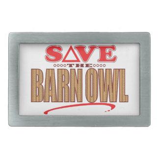 Barn Owl Save Belt Buckles