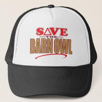 Barn Owl Save Trucker Hat