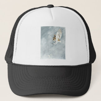 Barn Owl swooping with claws out Trucker Hat