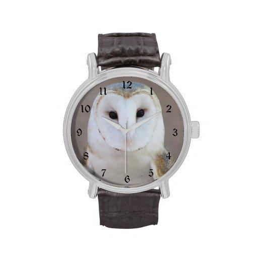 Barn Owl Wristwatch