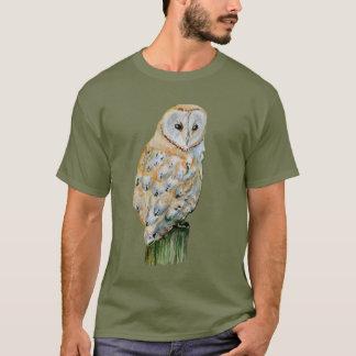 Barn owl watercolor T-Shirt
