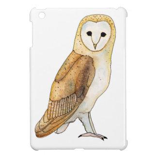 Barn Owl watercolour Cover For The iPad Mini