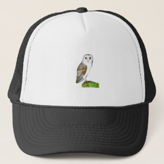 Barn Owl Watercolour Painting Trucker Hat