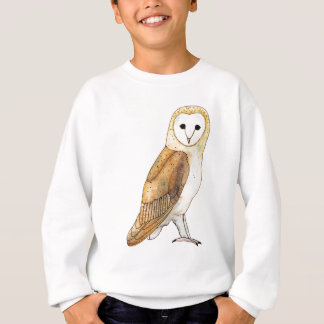 Barn Owl watercolour Sweatshirt
