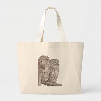 Barn Owls Canvas Bag