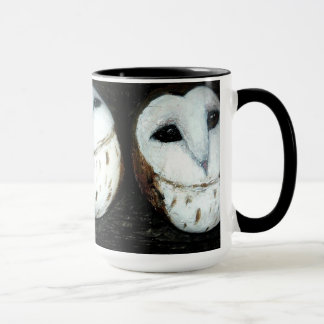 Barn owls, clachnaharry stones mug
