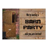 Barn Dance Invitations & Announcements   Zazzle UK