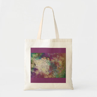 Barn Swallow Fantasy 60's Two Birds in a Nest Tote Bag