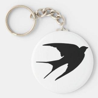 Barn Swallow Keychain