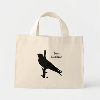 Barn Swallow silhouette Bag