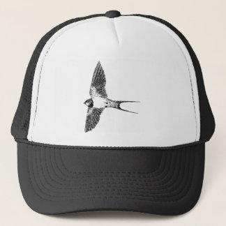 Barn swallow trucker hat