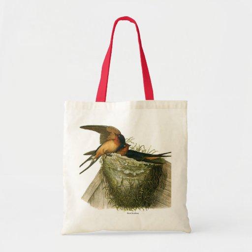 Barn Swallows Tote Bag