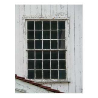 Barn Window Postcard
