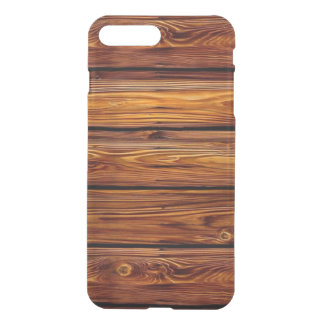 Barn Wood iPhone7 Plus Clear Case