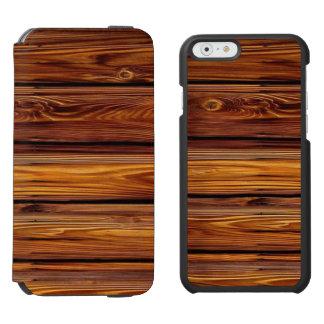Barn Wood iPhone 6/6S Wallet Case Incipio Watson™ iPhone 6 Wallet Case
